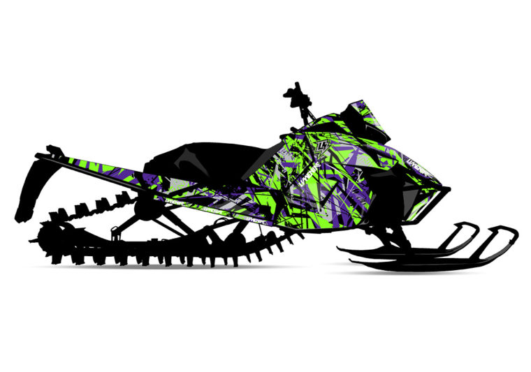 AMPLIFY (Arctic Cat) Sled Wrap